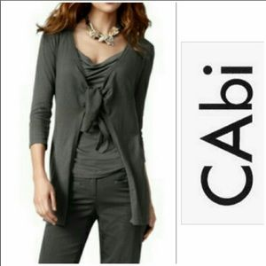 CAbi Black Cardigan size Medium